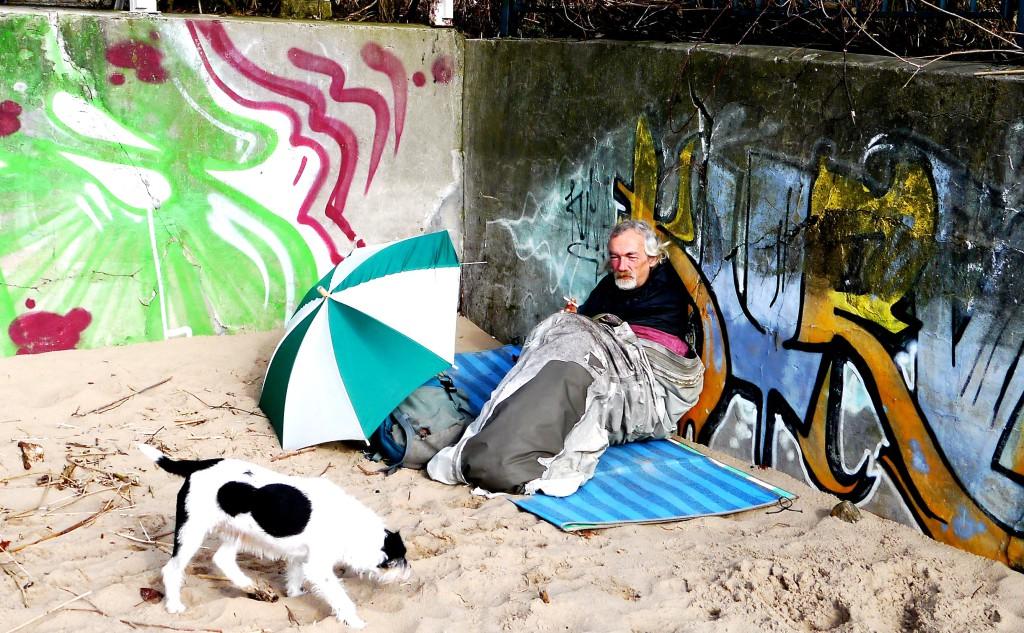 Obdachlos Hamburg