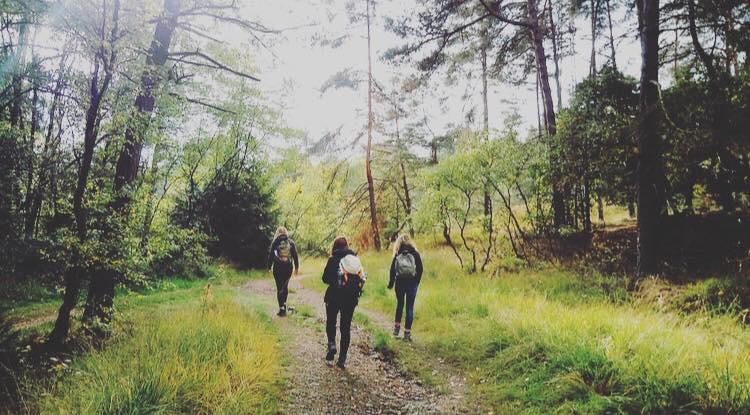 Unterwegs mit der Wandersfrau